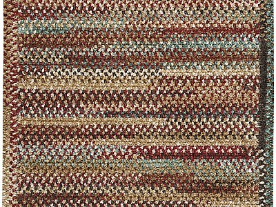 Braided New Homestead Sundried Red Rugs