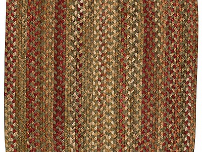 Braided Homecoming Evergreen Rugs