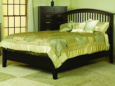 Cambrai Mission Bed Low Footboard