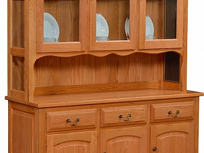 Addieville Collection 3 Door Hutch