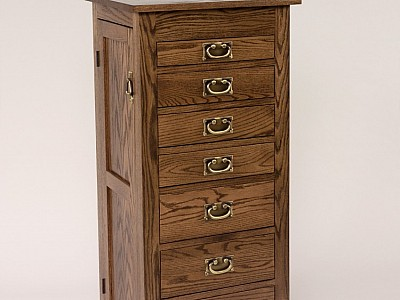 Mission Jewerly Armoire