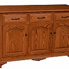 Plum Creek Collection 3 Door Buffet