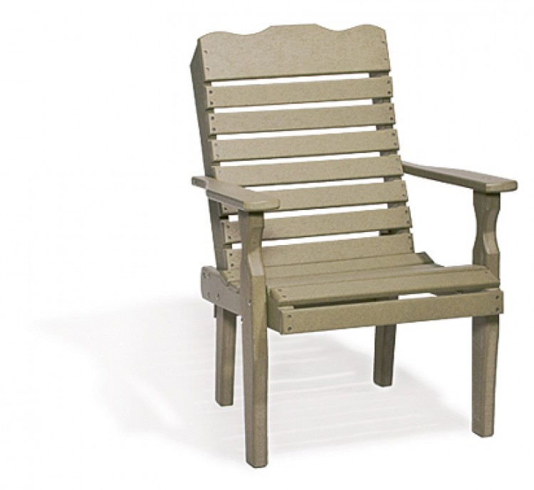 Single Curve Back Chair