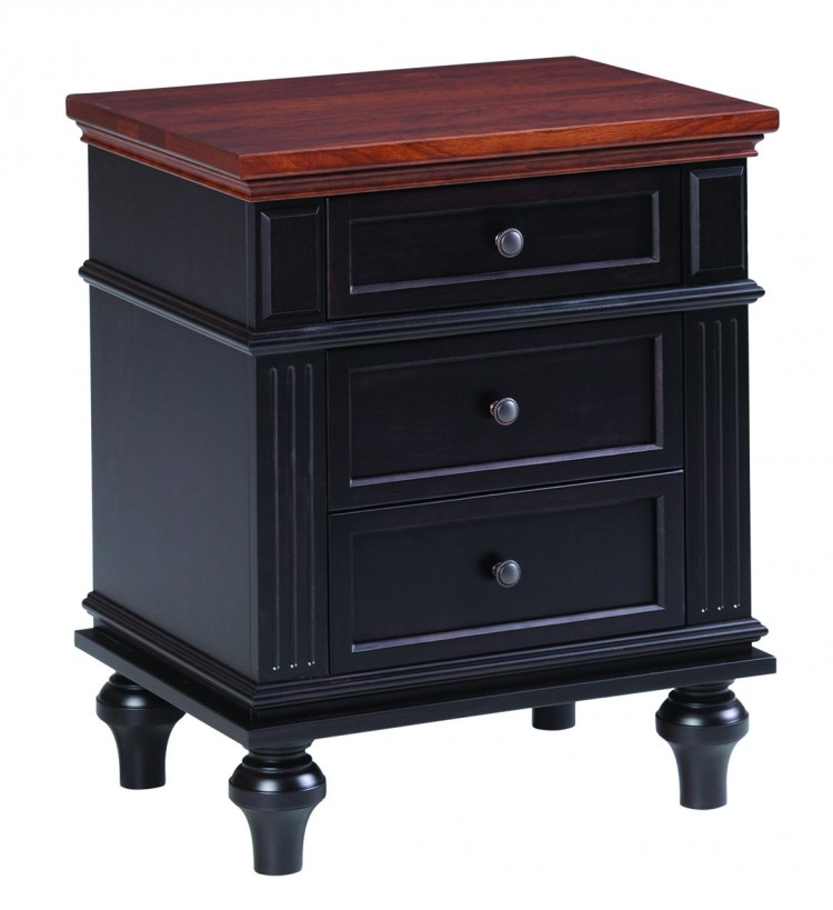 Hampton Night Stand 3 Drawer