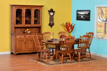 Plum Creek Dining Room Set  -  Cat No: GDG27  -  Click To Order  -  ID: 587
