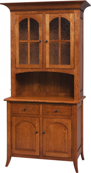 Bunker Hill 2 Door Hutch  -  Cat No: GDGO6-35S  -  Click To Order  -  ID: 638
