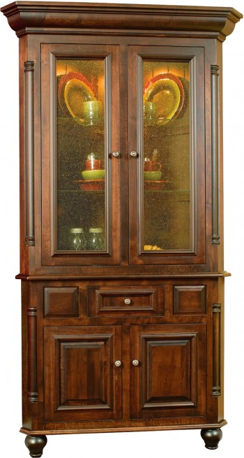 European Collection Corner Hutch  -  Cat No: GDG0938F  -  Click To Order  -  ID: 572