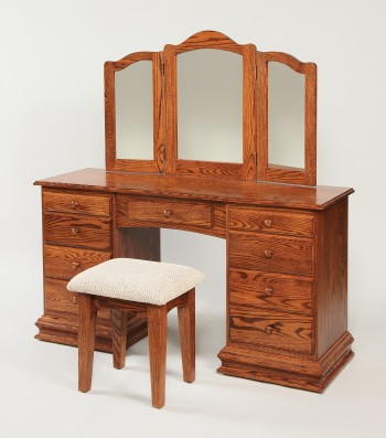 Deluxe Clockbase Dressing Table  -  Cat No: WS513  -  Click To Order  -  ID: 847