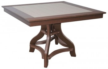 44in Square Dining Table  -  Cat No: 44-STD  -  Click To Order  -  ID: 963