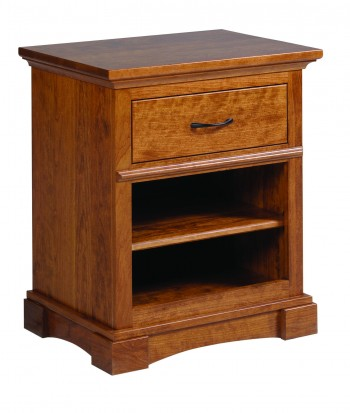 Crystal Lake 1 Drawer Nightstand - ID: 704