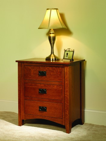 Mission Antique Night Stand  -  Cat No: TR1005  -  Click To Order  -  ID: 679