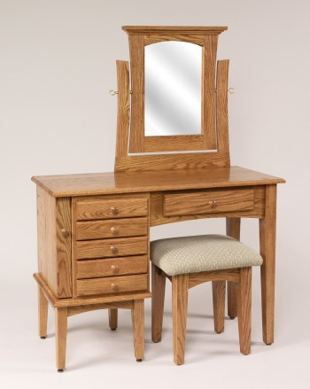Shaker Jewelry Dressing Table  -  Cat No: Ws621  -  Click To Order  -  ID: 841