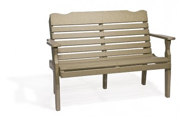 Poly West Chester Bench  -  Cat No: 420  -  Click To Order  -  ID: 801