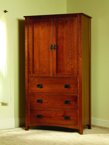 Mission Antique Armoire - ID: 677