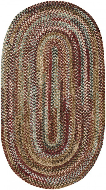 Braided New Homestead Sundried Red Rugs  -  Cat No: 0302-510  -  Click To Order  -  ID: 926