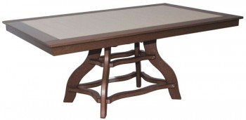 44in x 72in Rectangular Dining Table  -  Cat No: 44x72-RTD  -  Click To Order  -  ID: 956