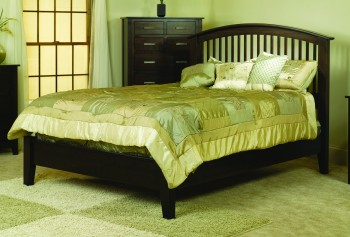 Cambrai Mission Bed Low Footboard  -  Cat No: TR1103  -  Click To Order  -  ID: 713