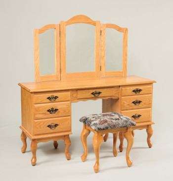 Queen Anne Dressing Table  -  Cat No: WS510  -  Click To Order  -  ID: 849