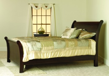 Riverview Mission Bed  -  Cat No: TR1201  -  Click To Order  -  ID: 738