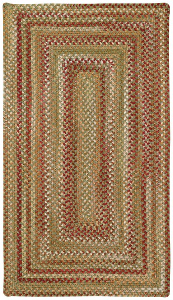 Braided Homecoming Evergreen Rugs  -  Cat No: 0048-200  -  Click To Order  -  ID: 930