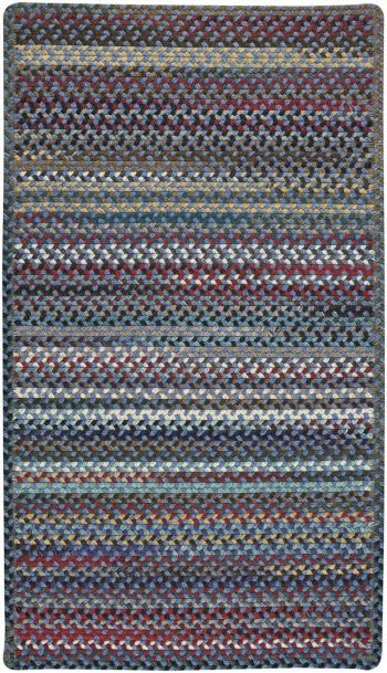 Braided Yorktowne Blue Rugs