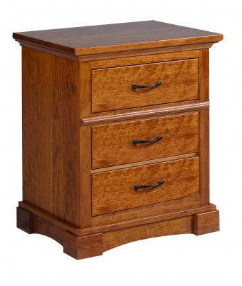 Crystal Lake 3 Drawer Nighstand  -  Cat No: TR4004  -  Click To Order  -  ID: 703