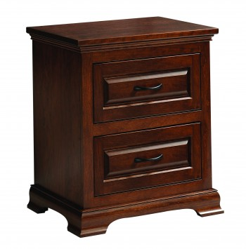 Wilkshire 2 Drawer Nightstand  -  Cat No: TR1808  -  Click To Order  -  ID: 741