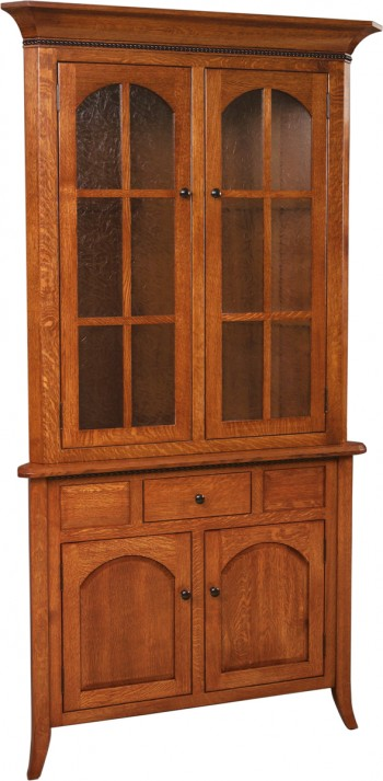 Bunker Hill Corner Hutch  -  Cat No: GDGO6-38F  -  Click To Order  -  ID: 634