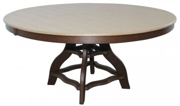 60in Round Dining Table  -  Cat No: 60-RTD  -  Click To Order  -  ID: 965