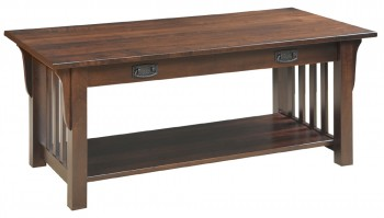 Mission Coffee Table  -  Cat No: M85-4D  -  Click To Order  -  ID: 561