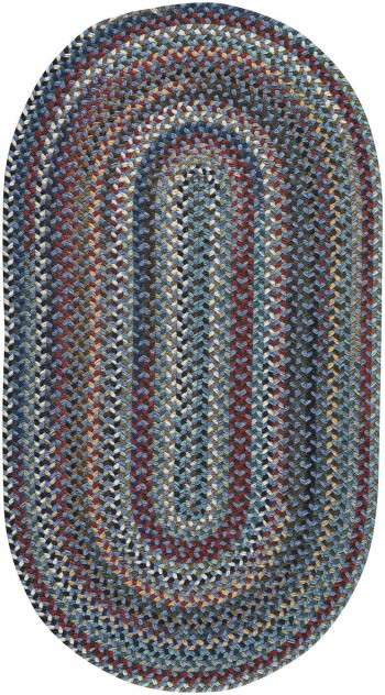 Braided Yorktowne Blue Rugs  -  Cat No: 0195-450  -  Click To Order  -  ID: 911