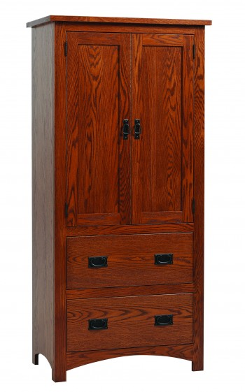 Siesta Mission Armoire  -  Cat No: TR3020  -  Click To Order  -  ID: 761