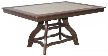 44in x 60in Rectangular Dining Table  -  Cat No: 44x60-RTD  -  Click To Order  -  ID: 960