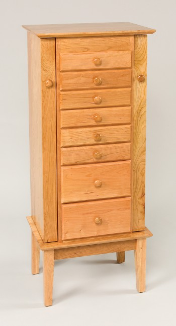 Shaker Jewelry Armoire  -  Cat No: LW122  -  Click To Order  -  ID: 867