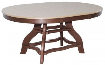 44in x 60in Oval Dining Table