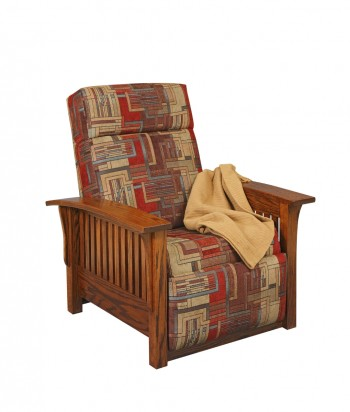 Mission Collection 85 Recliner   -  Cat No: M85-1  -  Click To Order  -  ID: 568