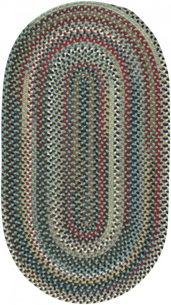 Braided Yorktowne Green Rugs  -  Cat No: 0195-250  -  Click To Order  -  ID: 917