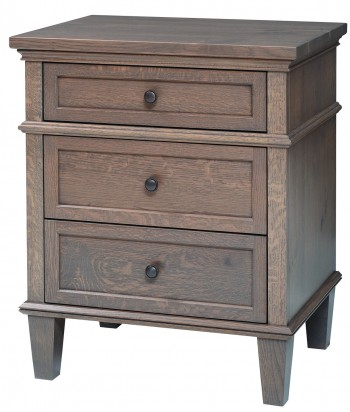 Rockport 2 Three Drawer Night Stand  -  Cat No: LTR2106  -  Click To Order  -  ID: 898