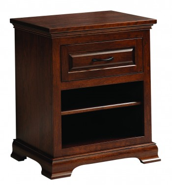 Wilkshire 1 Drawer Nightstand  -  Cat No: TR1807  -  Click To Order  -  ID: 742
