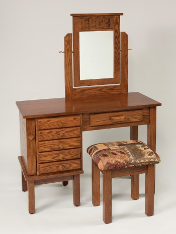 Mission Jewelry Dressing Table  -  Cat No: WS631  -  Click To Order  -  ID: 840