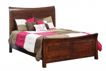 Arlington Sleigh Bed  -  Cat No: TR3400  -  Click To Order  -  ID: 795