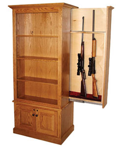 Hidden Gun Cabinet  -  Cat No: 872T  -  Click To Order  -  ID: 548