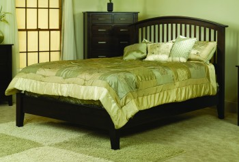 Cambrai Mission Bed Low Footboard - ID: 713