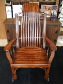 View / Order - Amish Rocking Chair - ID: 508